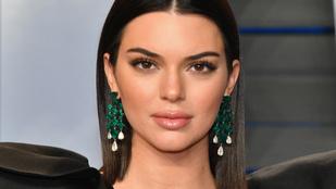 Kendall Jenner saját bevallása szerint is több sminket visel új fotóin, mint ruhát