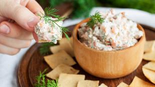 Kapros lazac dip – használd ki a friss fűszernövények szezonját!