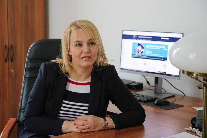 Prof. Dr. Gellén Klára, az SZTE oktatási rektorhelyettese