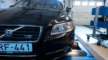 Totalcar Erőmérő: Volvo S80 V8