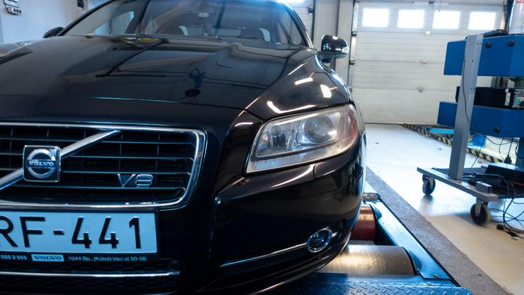 Egyszer volt Volvo V8 - ez az!