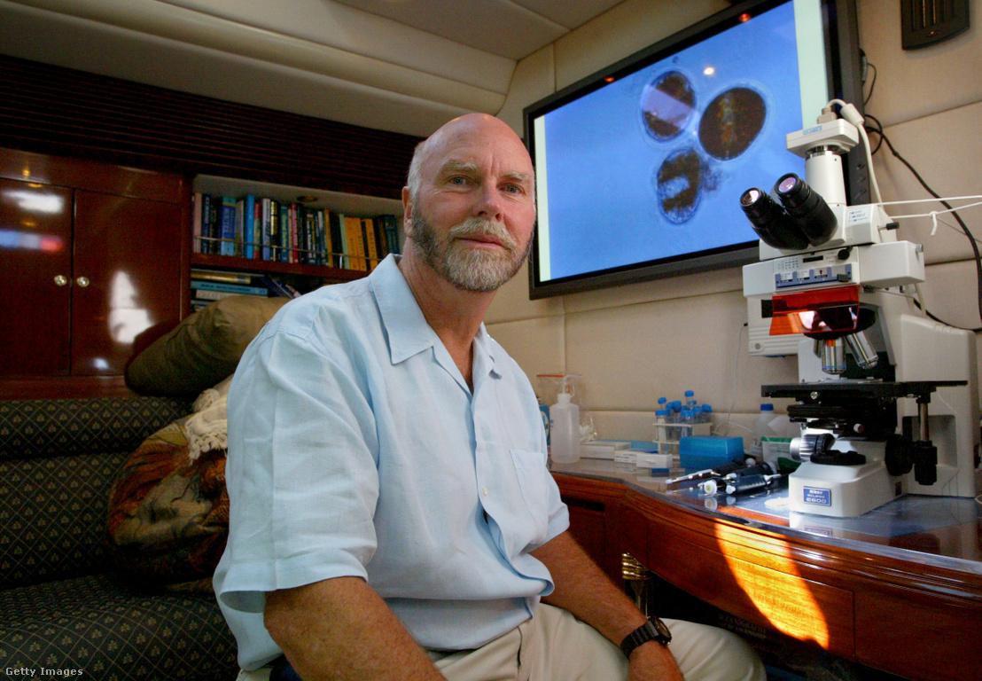 J Craig Venter 2004. november 3-án.