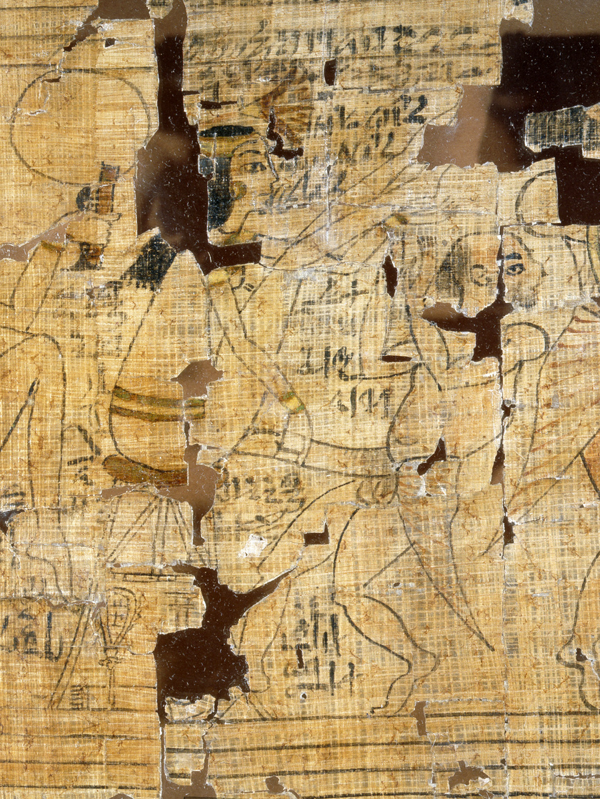 Részlet a Torinói Erotikus Papiruszról