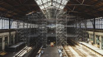 70 ezer légköbméteres térállványt építettek a Nyugati pályaudvarra