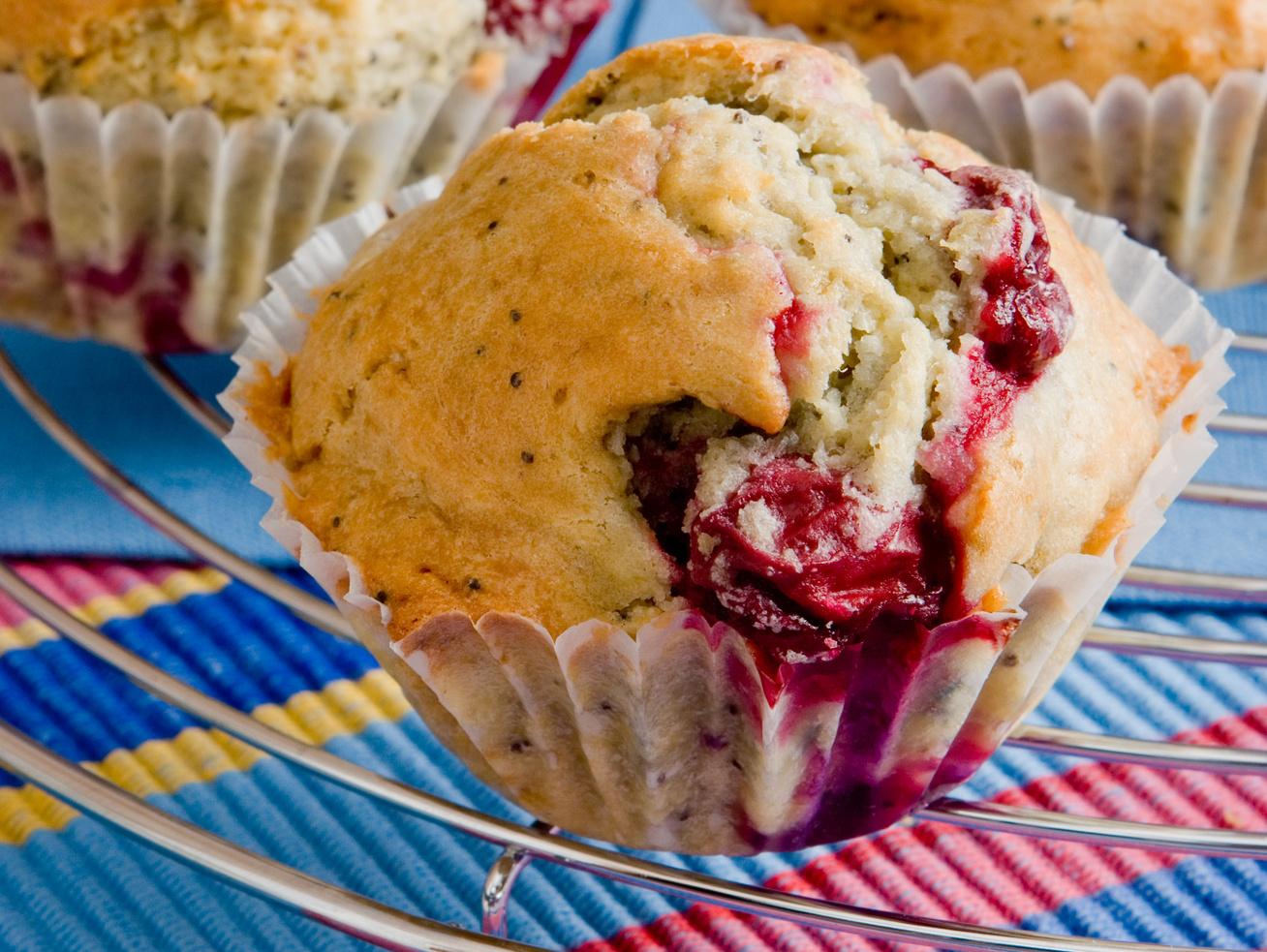 meggyes-makos muffin receptje