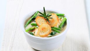 Kapros zöldbableves – melegen és jéghidegen is finom
