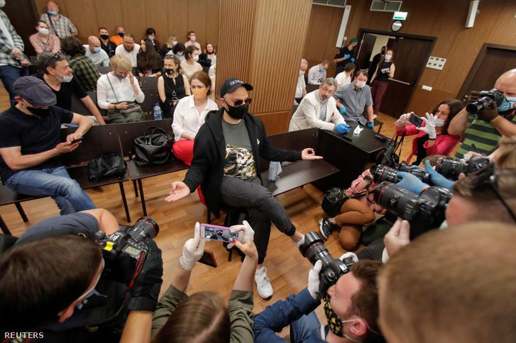 Szerebrennyikov a moszkvai bíróságon