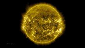 Egy óra alatt végignézhető a Nap tíz éve