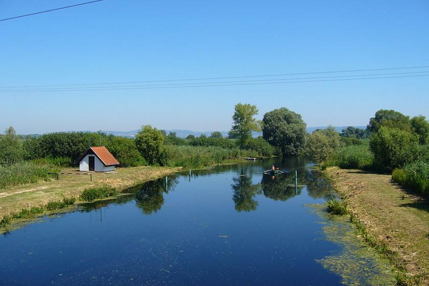 A Zala folyó.