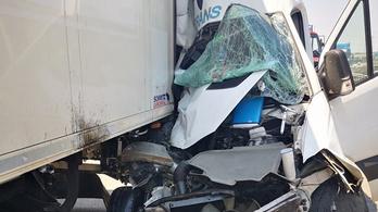 Három baleset is történt az M0-son