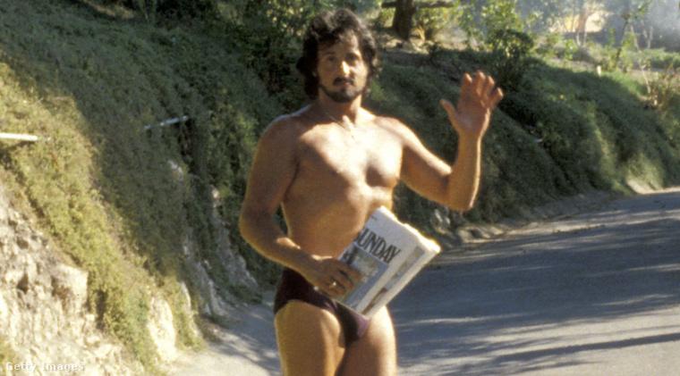 Sylvester Stallone 1979-ben. A színészről kiderült, korábban szerepelt egy szexfilmben.