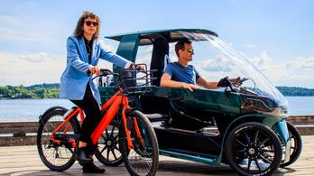 Előrendelhető az elektromos bringóhintó