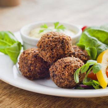 Szaftos, sült gombás fasírtgolyók – Spagettire is szuper feltét húsmentesen