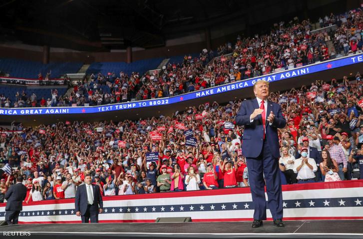 Donald Trump kampányrendezvénye Tulsában, Oklahomában 2020. június 20-án