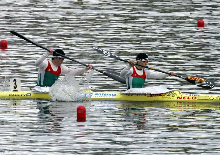 Paksy és Benedek a poznani Európa-bajnokságon 2004-ben