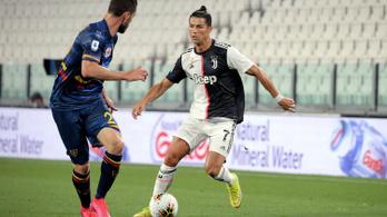 Ronaldo vezetésével a Juventus 4-0-ra ütötte ki a Leccét