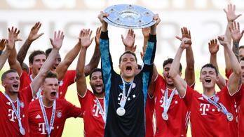 Száz góllal zárta a szezont a Bayern München