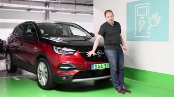 Opel Grandland X 100km-es fogyasztásteszt