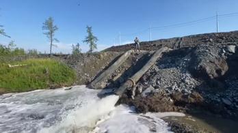 A környezetvédelmi előírásokat megsértve pumpáltak szennyvizet a tundrába