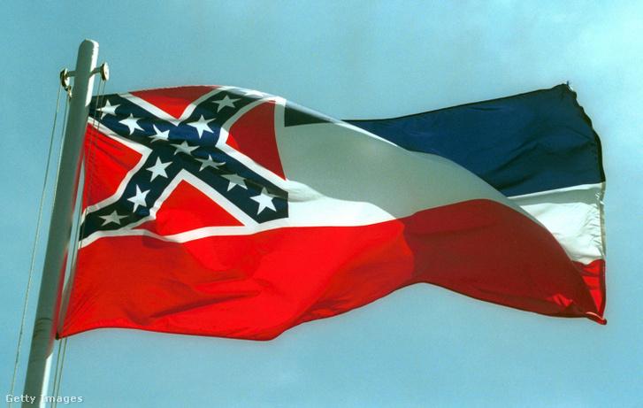 Mississippi állam régi zászlaja