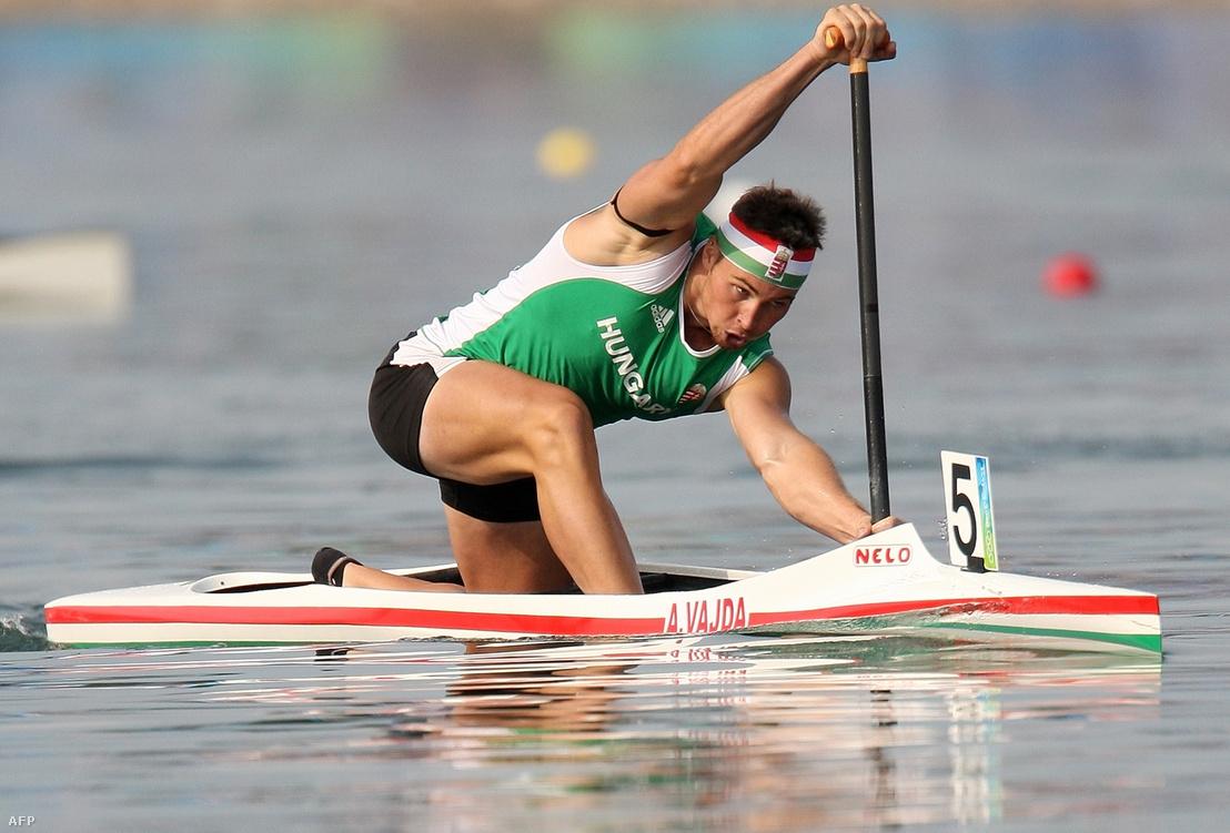Vajda Attila a pelingi olimpián 2008. augusztus 18-án