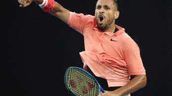 Kyrgios durván nekirontott a karantént megszegő teniszezőnek
