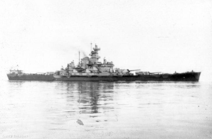 A USS South Dakota több tengeri ütközetet is megjárt.