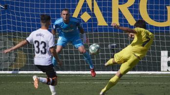 Szenzációs, egyérintős gólokat lőtt a Villarreal