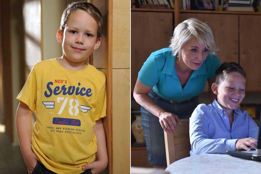 Puha Kristóf hét éven keresztül alakította Mátét, Juli fiát.