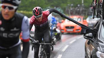 Froome nem hagyja el a csapatát a Tour de France előtt