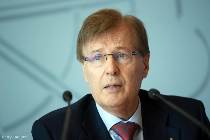 Peter Biesenbach az ügyről folytatott sajtótájékoztatón 2020. június 29-én.
