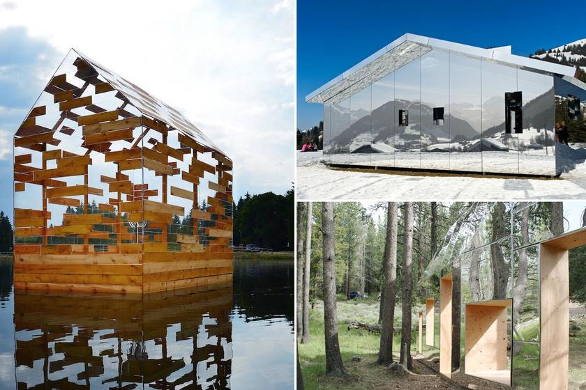 8 láthatatlan épület a világ körül: tükrökkel trükköztek a megalkotóik