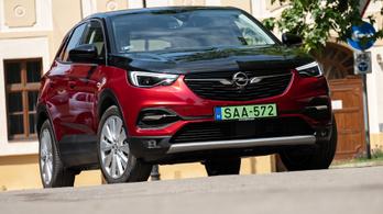 Teszt: Opel Grandland X Hybrid4 Ultimate - 2020.