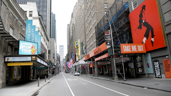 Nem nyit már ki idén a Broadway