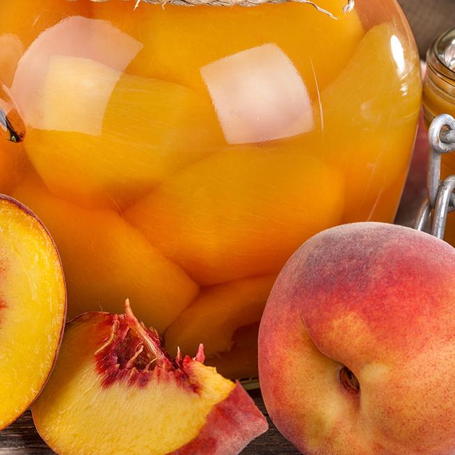 Mamaféle őszibarackbefőtt: a gyümölcs hónapok múlva is ropogós marad