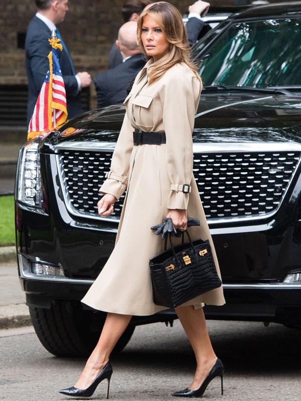 Milyen magasra nőtt Melania Trump?