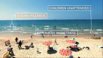 Mesterséges intelligencia vigyázhatja a strandolók biztonságát