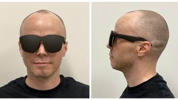 Napszemüvegre hasonlító VR-szemüveggel állt elő a Facebook