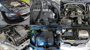 Hogy teljesítenek az év motorjai a használtpiacon? - 1999-2003