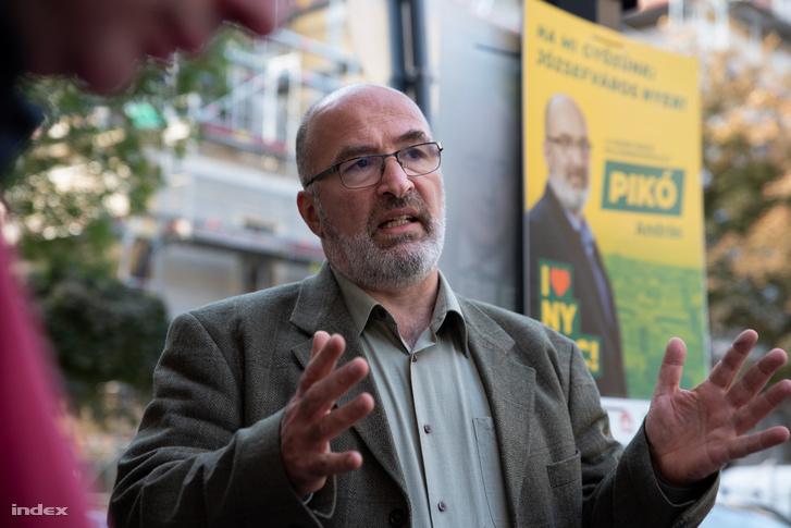 Pikó András józsefvárosi polgármester