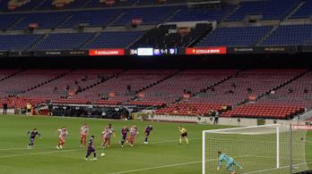 Messi panenkás tizenegyesgólja kevés volt a Barcelona győzelméhez