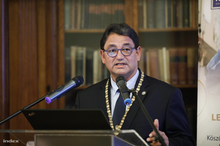 Dr. Merkely Béla, a Semmelweis Egyetem rektora