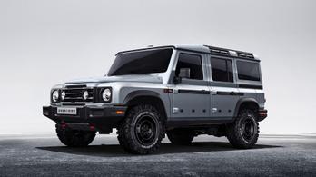 Elrajzolt Land Rovernek látszik az új Ineos Grenadier