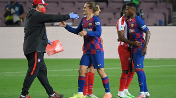 Tudatosan készült a Barcelona edzője Griezmann megalázására