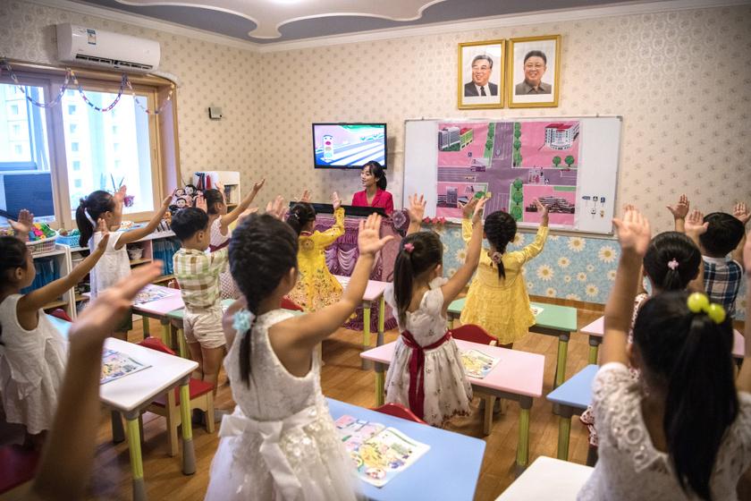 észak-korea-iskola