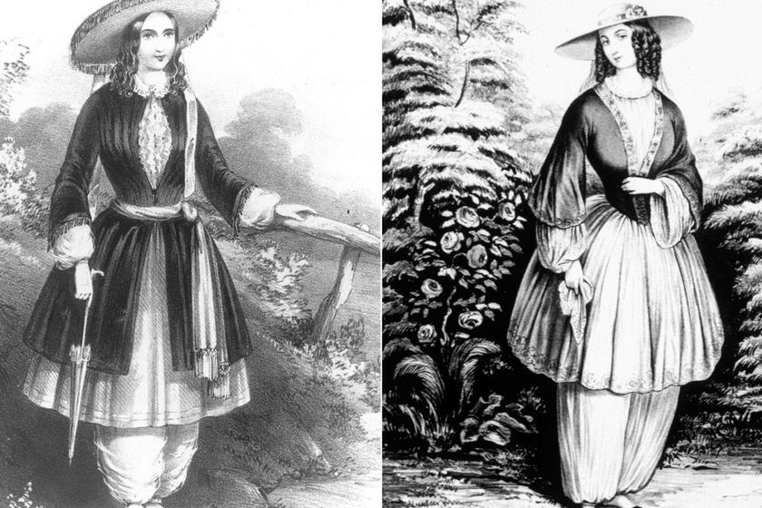A ruha, amiért sokan megszólták, megalázták a nőket az utcán: a bloomer kosztüm története