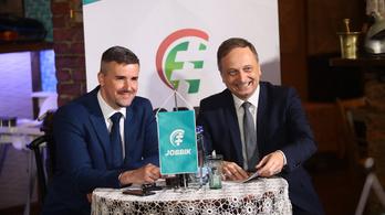 Jobbik: Megérkeztünk a centrumba