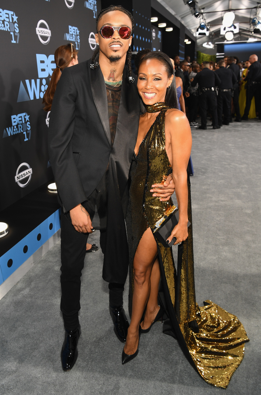 Jada Pinkett Smith és August Alsina.