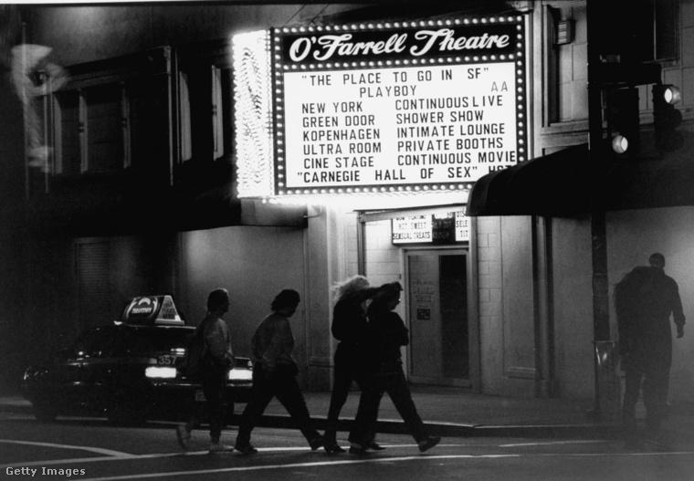 Így nézett ki az O'Farrell Theatre a fénykorában