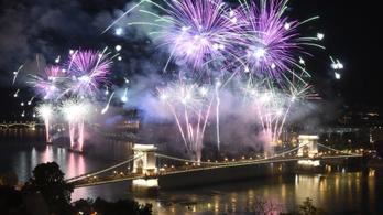 Az Antenna Hungáriára bíztuk a tűzijátékot